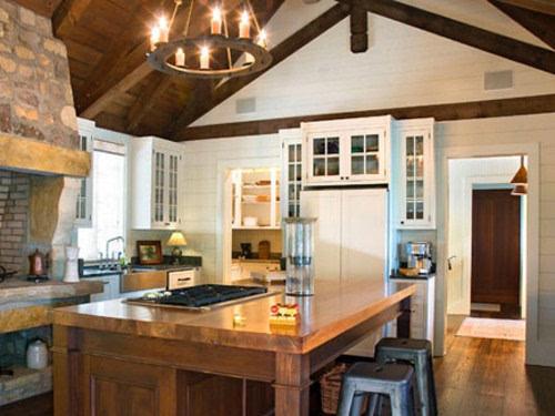 country kitchen islands knobs lowes 8款田园乡村风开放式厨房就是这么有乡土气息图 搜狐其它 搜狐网