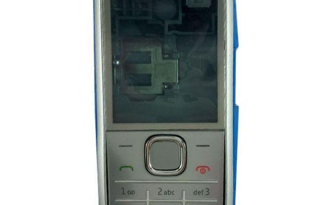 Original Full Housing For Nokia X2 00 Silver Mobile