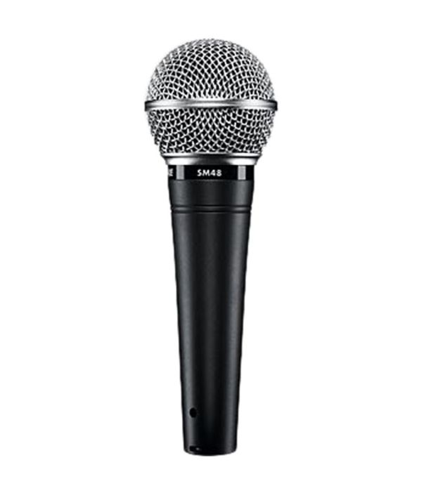 Shure Sm48-lc Cardioid Dynamic Vocal Microphone Online In India - Snapdeal