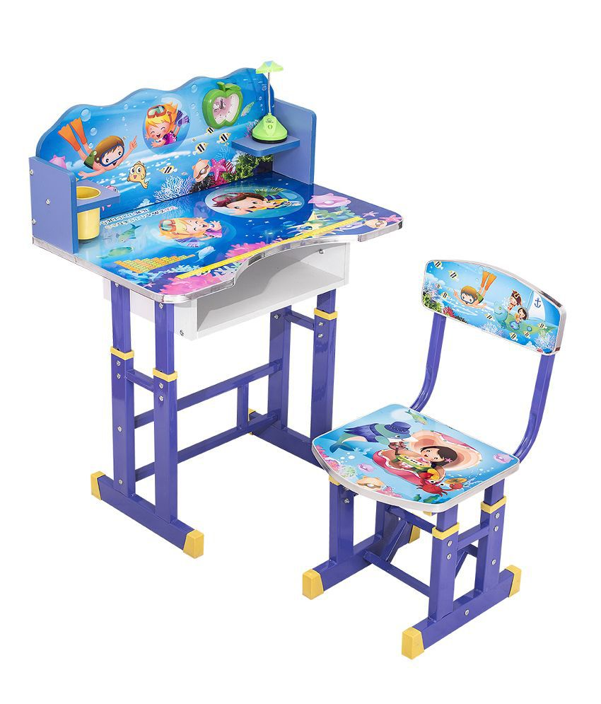 study table and chair for kids fancy chairs sale furniture dynamics buy online at low price snapdeal