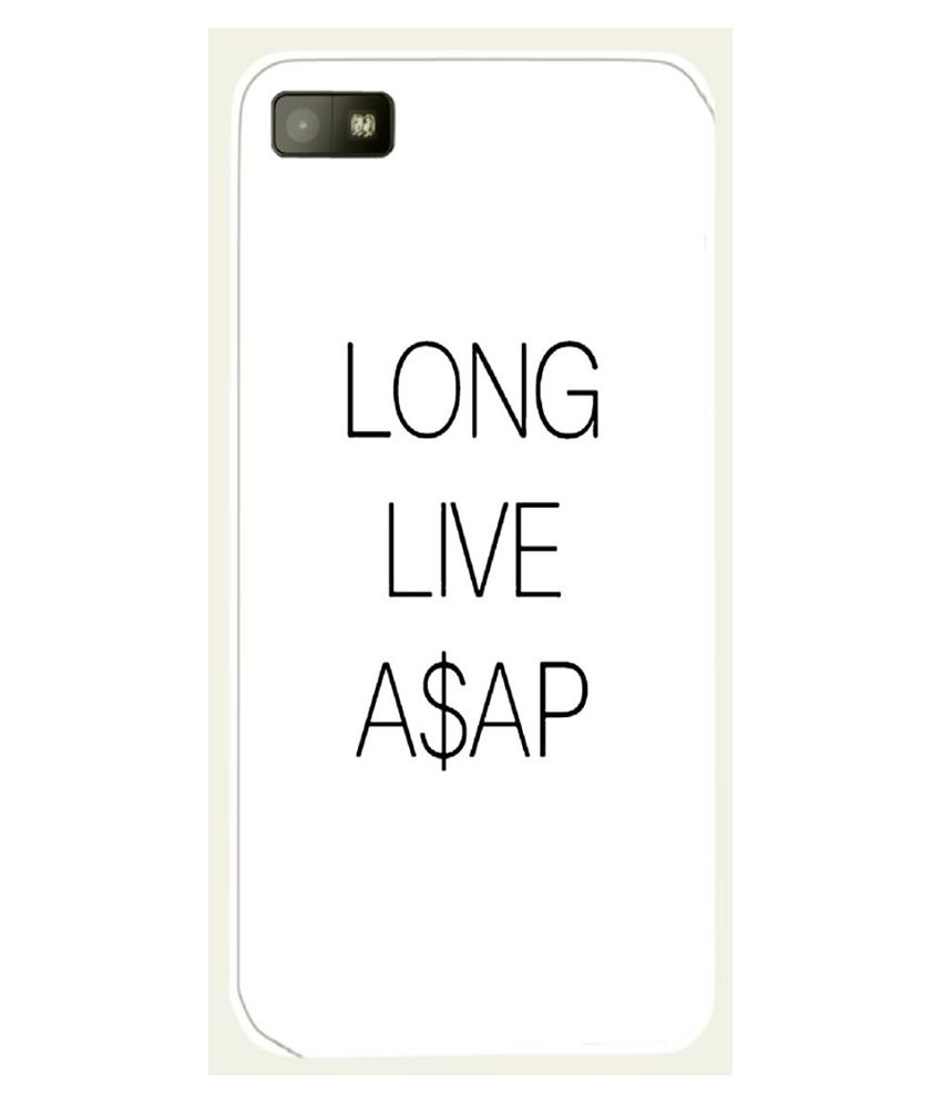Snoogg Long Live Asap Case Cover For Blackberry Z10