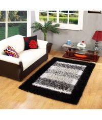 My House Black Handmade Carpet - Buy My House Black ...