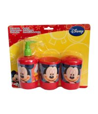 Buy Disney Red Mickey Bathroom Set - 3piece Online at Low ...