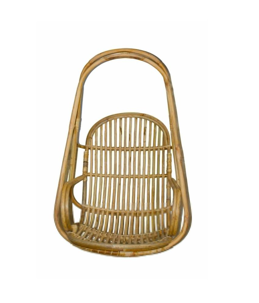 hanging chair flipkart kitchen island with chairs 36 off on amour beige honey finish cane snapdeal paisawapas com