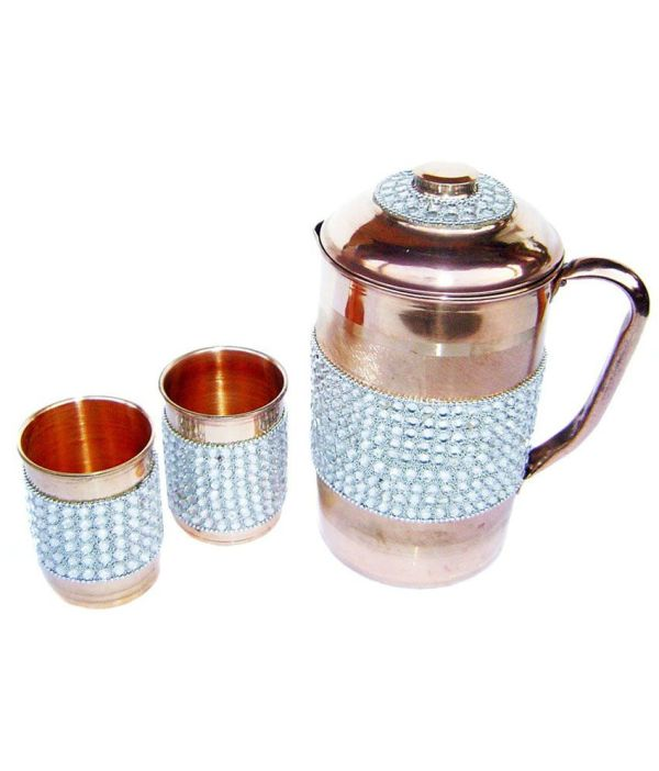 Luminarc Glass 1600 Ml Octime Jug With Lid 2 Pc