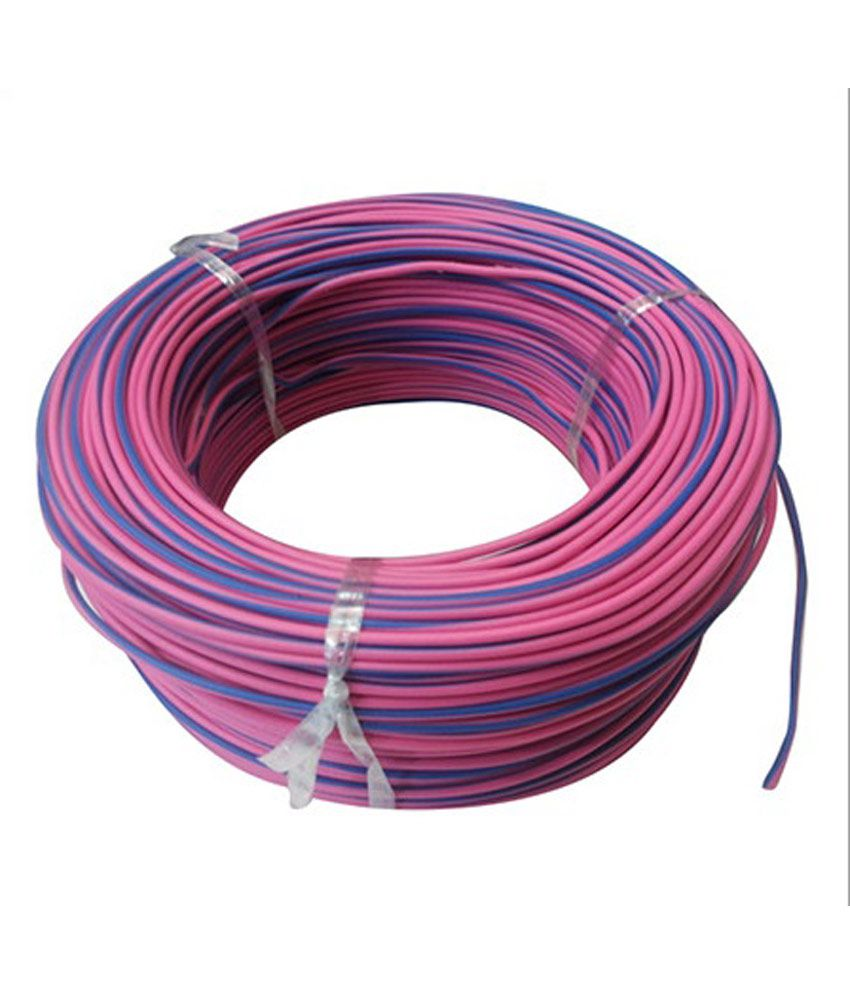 medium resolution of buy bhatia cable house multicolour thin pvc wire 100 meter online at low price in india snapdeal
