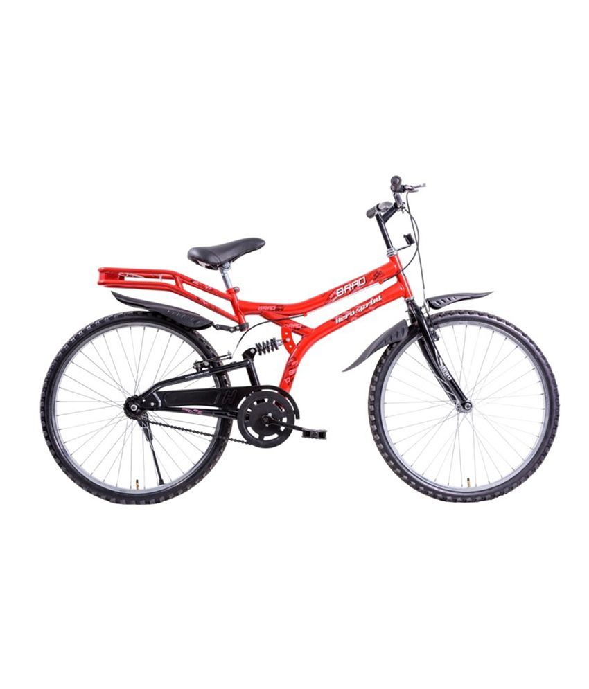 Hero Sprint Brad 26t With Rear Suspension Bicycle: Buy