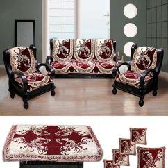 Sofa Covers Low Price Italian Leather Sofas Dublin Fk 10 Seater Velvet Set Of Buy Online At Snapdeal