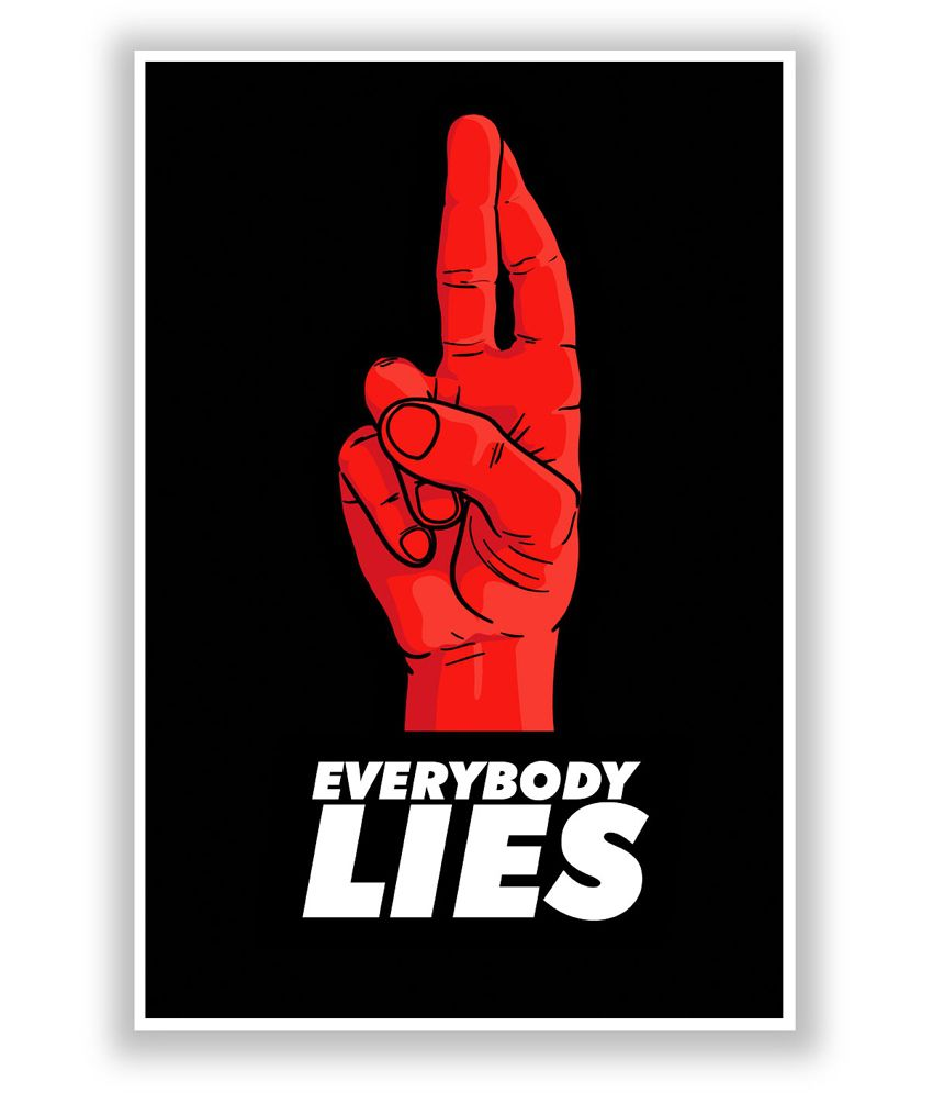 buy posterguy everybody lies house md
