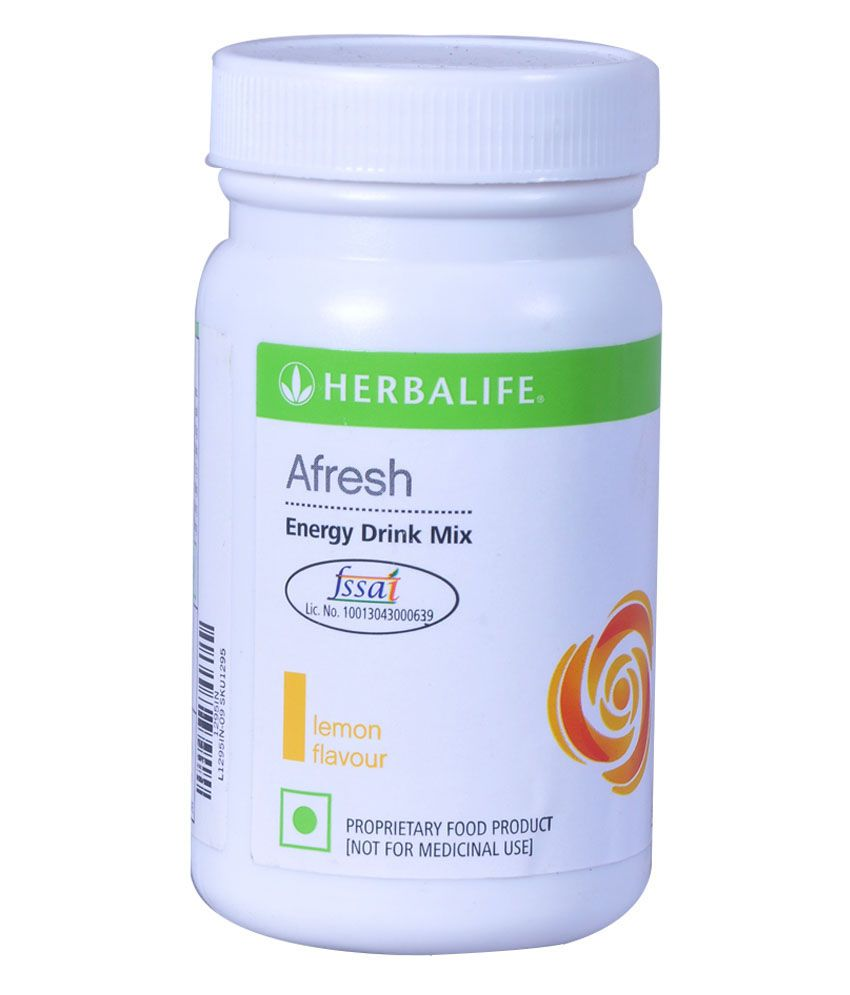 Herbalife Afresh Energy Drink Mix Lemon Flavor Available
