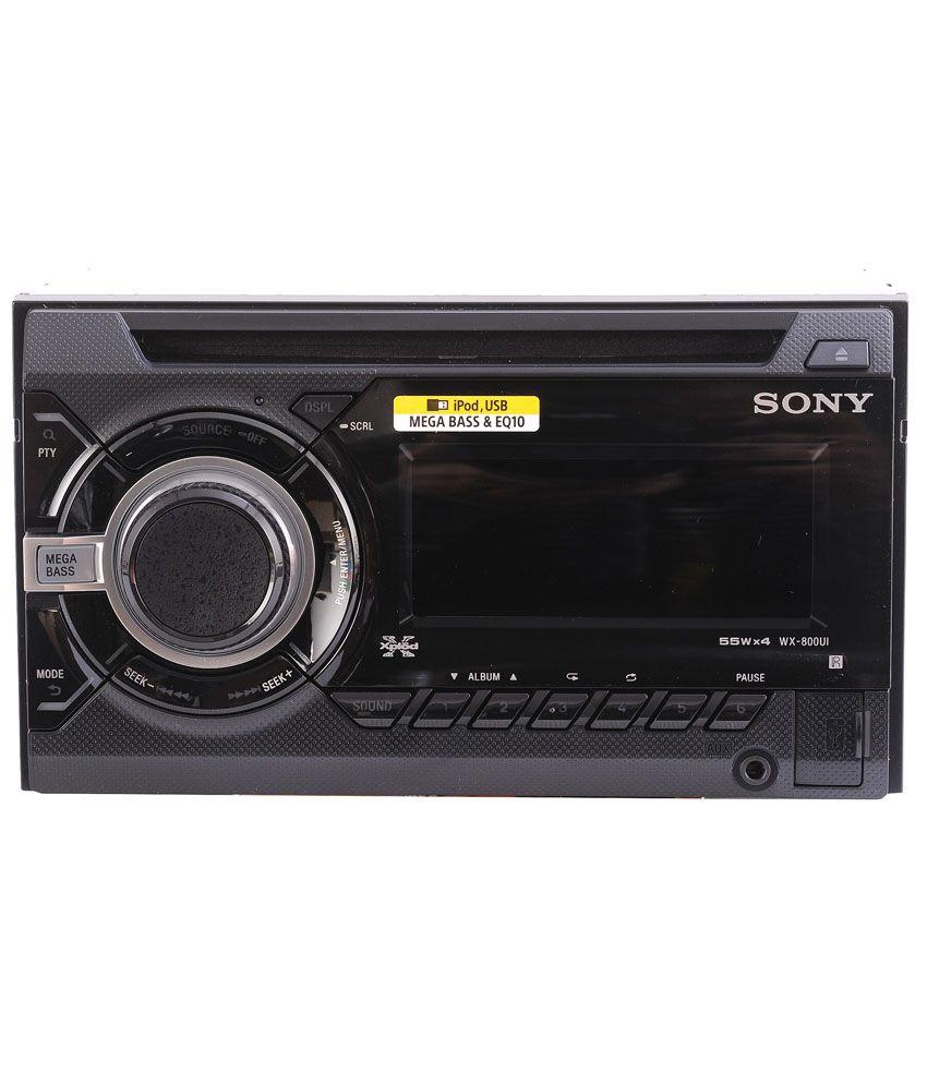 Sony Car Audio Radio Stereo Wiring Diagram