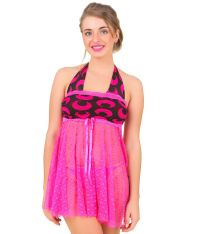Buy Bomshel Pink Baby Doll Dresses Online at Best Prices