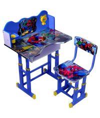 Wood Wizard Spiderman Kids Study Table Set - Buy Wood ...