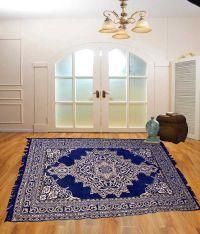 Tanya's Homes Blue Velvet Carpet - Buy Tanya's Homes Blue ...