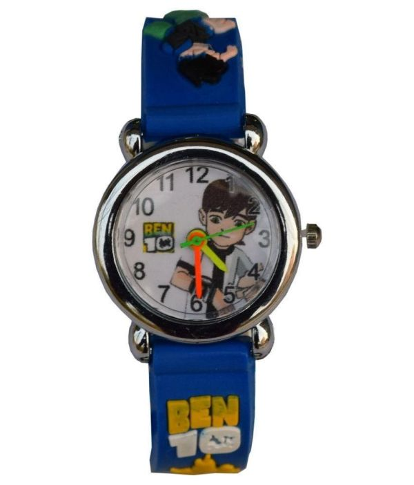 Lecozt Blue Rubber Analog Watch Kids In India
