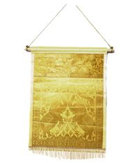 Lal Haveli Letter Holder Wall Hanging Tapestry Yellow ...