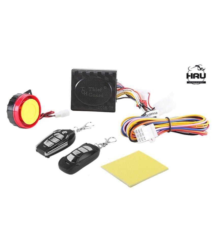 hight resolution of autofy anti theft security system alarm with remote for all bikes
