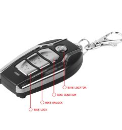 autofy anti theft security system alarm with remote for all bikes  [ 1500 x 1500 Pixel ]
