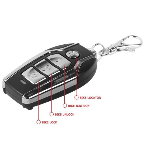 small resolution of  autofy anti theft security system alarm with remote for all bikes