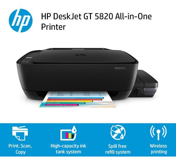 HP Deskjet GT 5820 Wireless Ink tank Printer - Buy HP Deskjet GT 5820 Wireless Ink tank Printer Online at Low Price in India - Snapdeal
