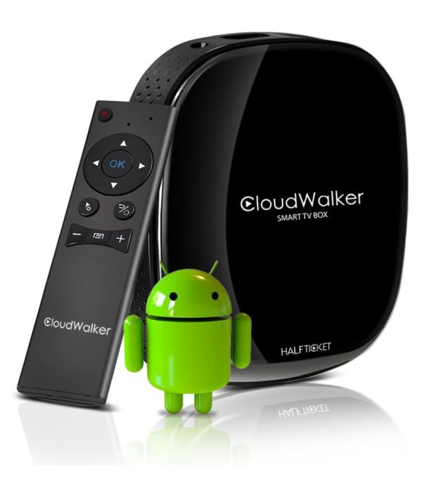 Cloudwalker A8 Smart Tv Box With Air Mouse & 1 Year