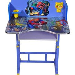 Spiderman Table And Chairs Folding Sofa Chair Bed Kids Set Computer For Study