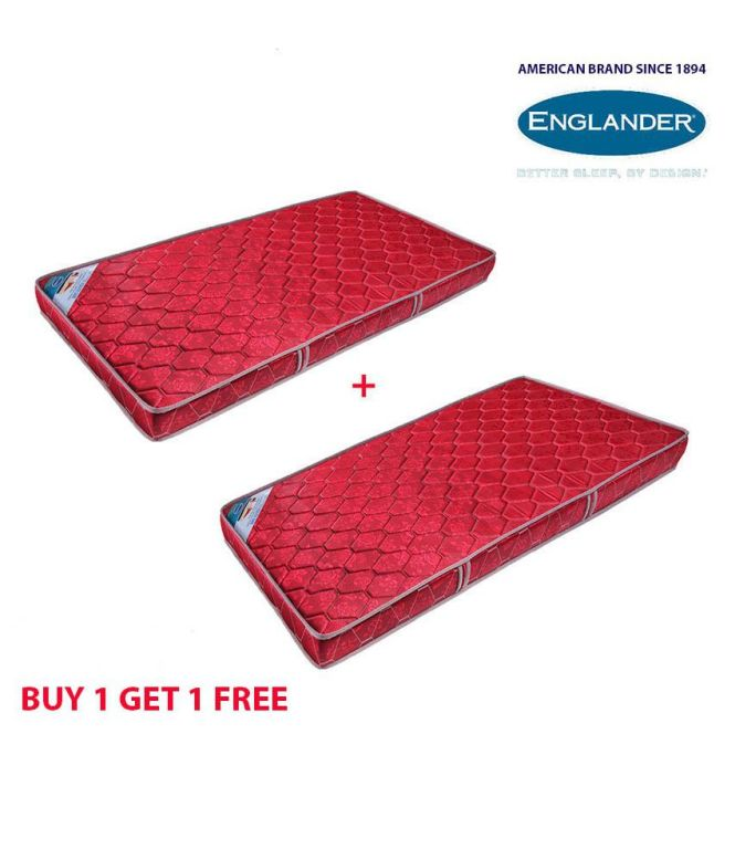 Englander Health Care 4 Inches Orthopedic Mattress 1 Get Free