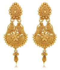 Youbella Gold Plated Hangings Earrings For Women