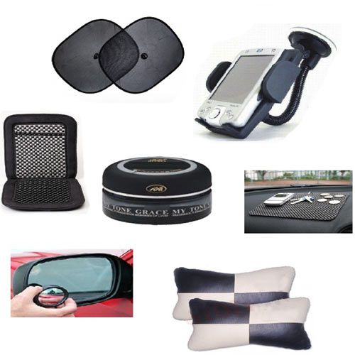 Combo of 7 car interior accessories Buy Combo of 7 car
