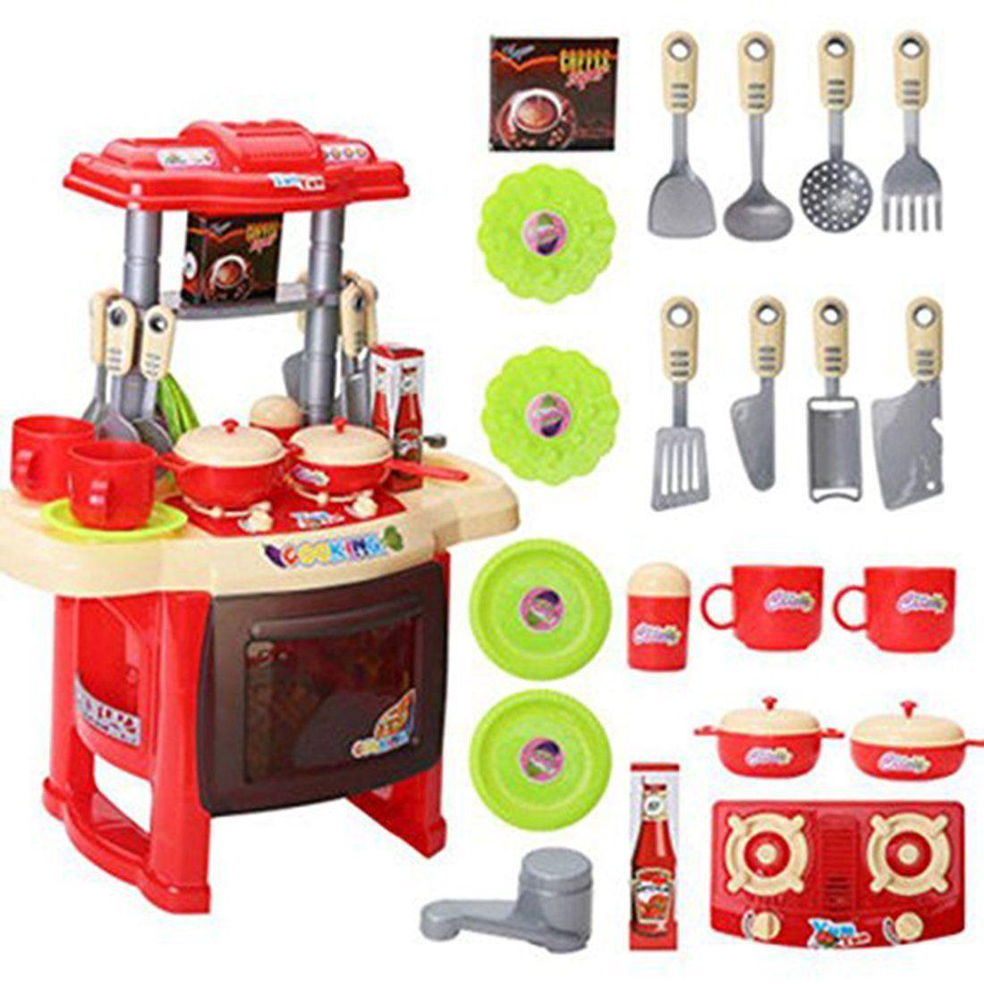 Webby Kids Kitchen set children Kitchen Toys Large Kitchen