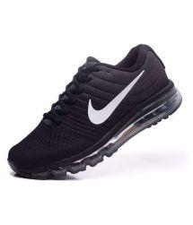 Nike Airmax 2017 Colour Black Running Shoes