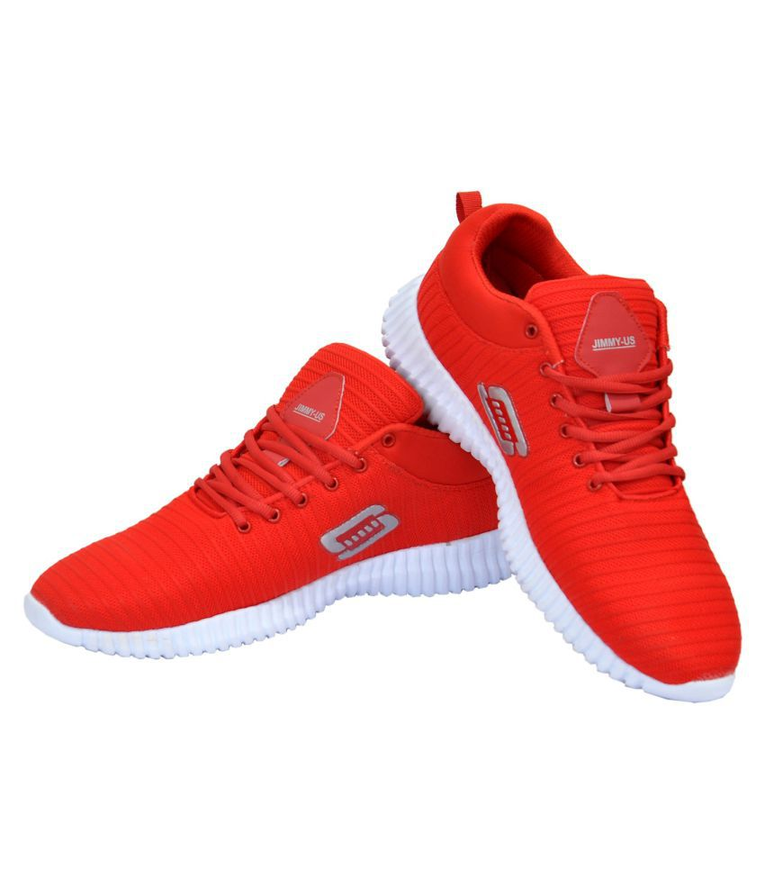 wdl sneakers red casual