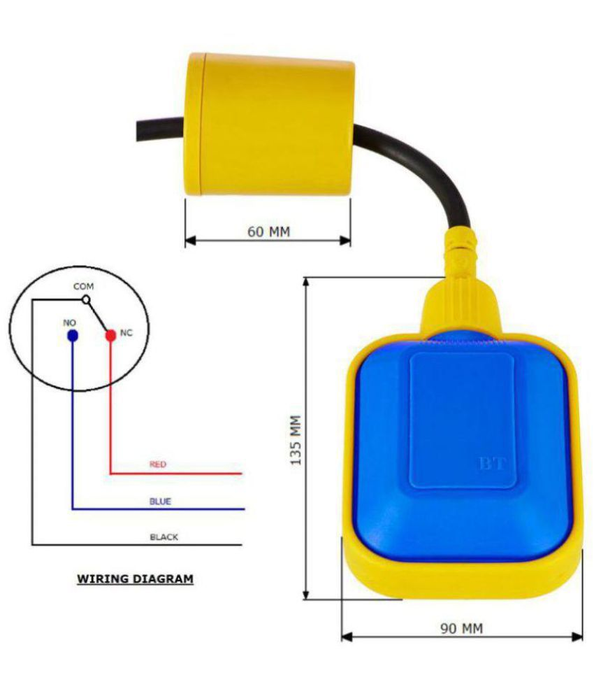 hight resolution of  5pc floaty wired square head cable float switch water level sensor controller