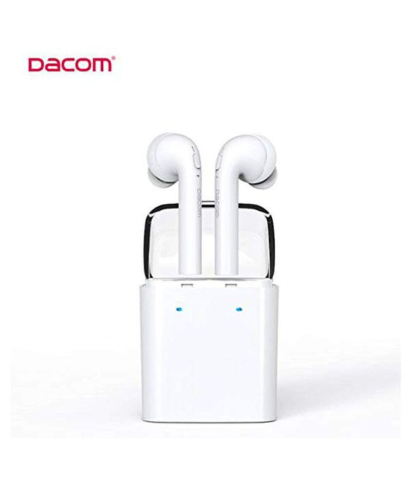 Apple AirPods Bluetooth Headset with Mic (White, In the