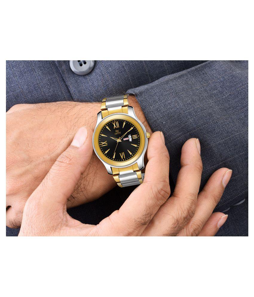 Hemt HM-GR0010-BLK-CH Stainless Steel Analog Men's Watch - Buy Hemt HM-GR0010-BLK-CH Stainless Steel Analog Men's Watch Online at Best Prices in ...