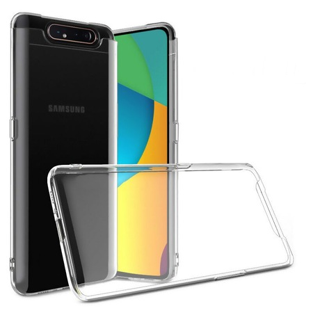 Samsung Galaxy A80 Kılıf Silikon Şeffaf Ultra İnce - n11.com