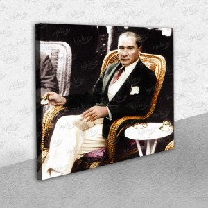 Mustafa Kemal Atatürk – Kanvas Tablo