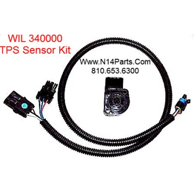 WIl 340000 TPS Sensor For Most Cummins L10, M11, N14 Engines