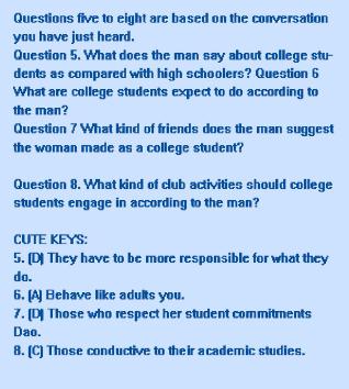 六級答案_2019年6月英語六級聽力原文答案:試卷一長對話2(有道考神)_滬江英語