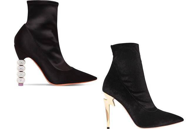 На подъеме: каблуки неожиданных форм и контрастных оттенков (фото 12)