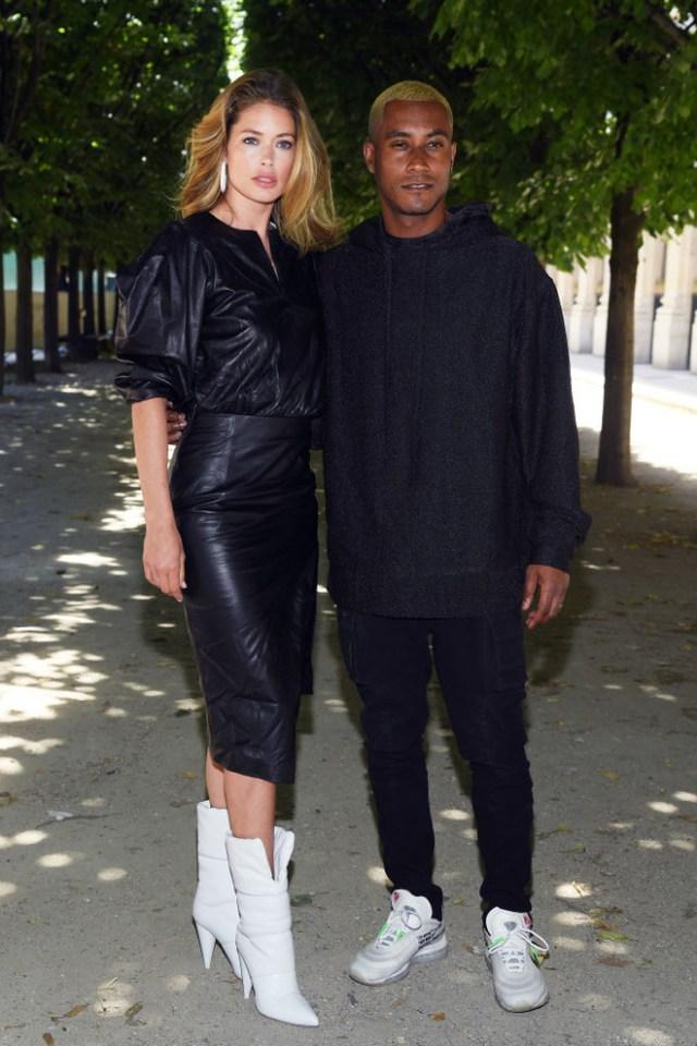 Guests of the Louis Vuitton show in Paris (photo 6)