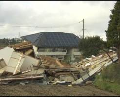 地震 倒壊 家