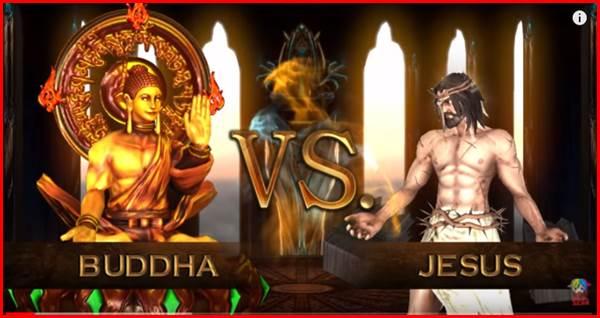 Fight of Gods ブッダ イエス