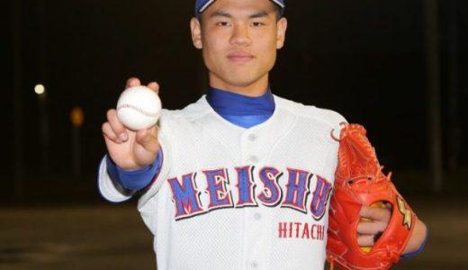 細川拓哉(明秀学園日立)の変化球の球種や最高球速は?兄はプロ野球選手でドラフトも期待!