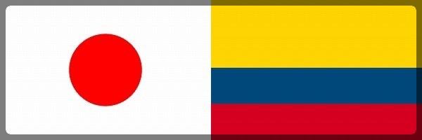 日本 コロンビア サッカー