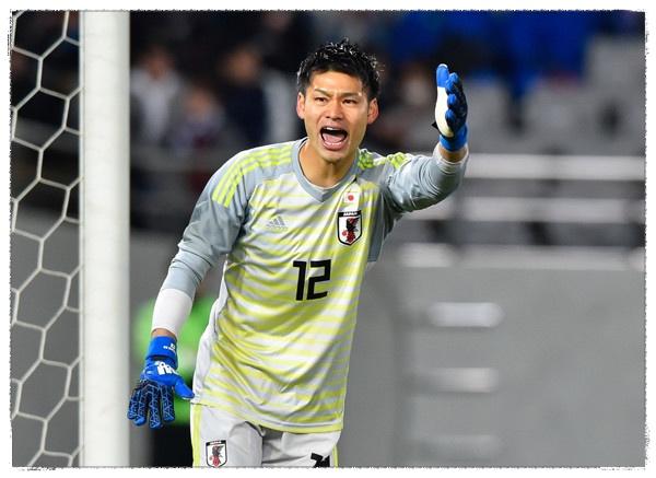 中村航輔 サッカー 日本代表