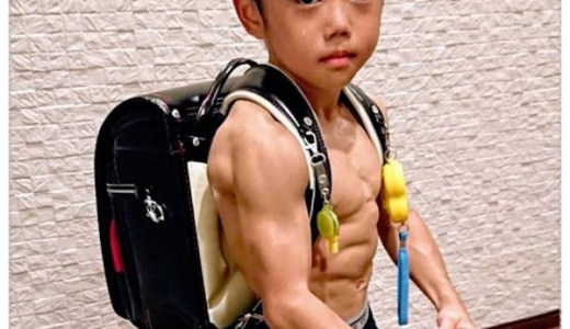 今井竜惺(Ryusei)2019現在の身長と体重や入院の噂は?両親や筋肉動画もチェック!