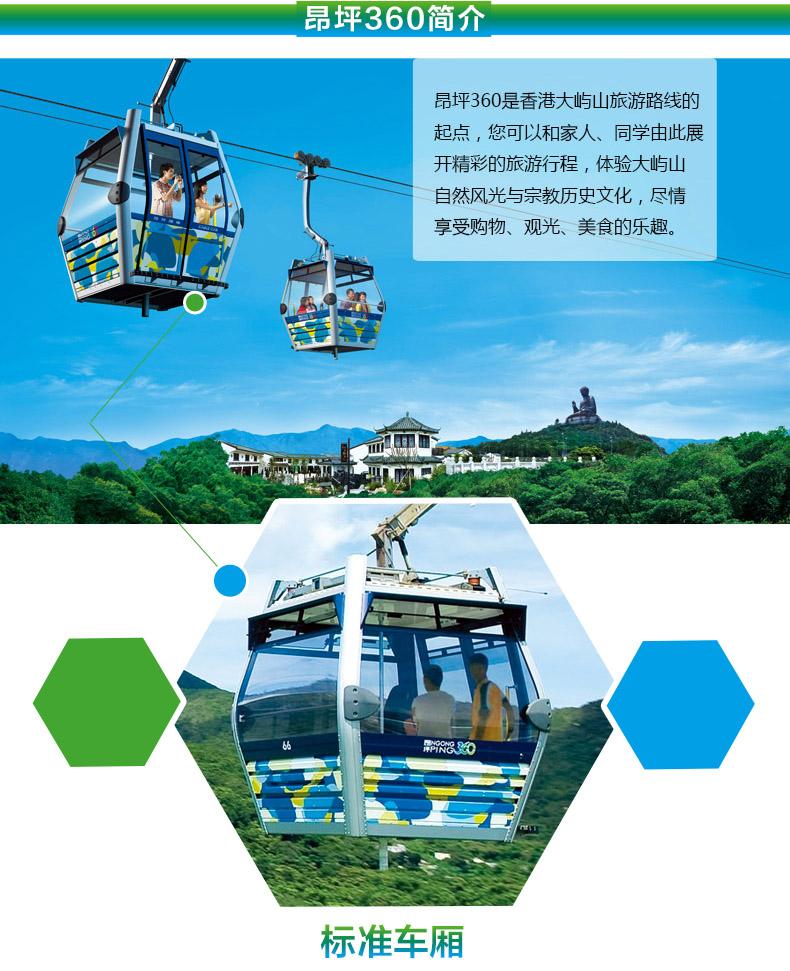 香港 昂坪360來回往返纜車短信電子票(即訂即用+無需打印),螞蜂窩自由行 - 螞蜂窩自由行