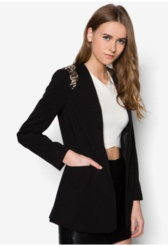 Dorothy Perkins  Black Embellished Jacket
