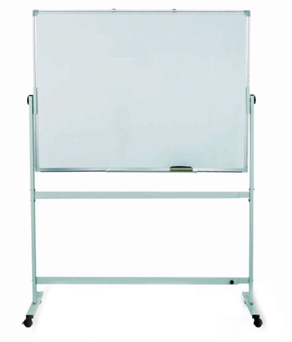 Oddy Double Side Magnetic White Board 3' X 4' With Stand